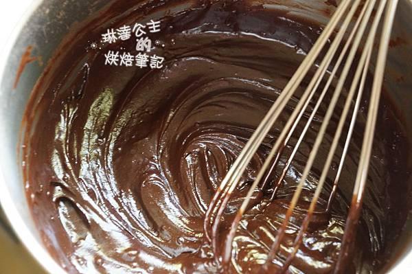 巧克力大理石牛角麵包 2