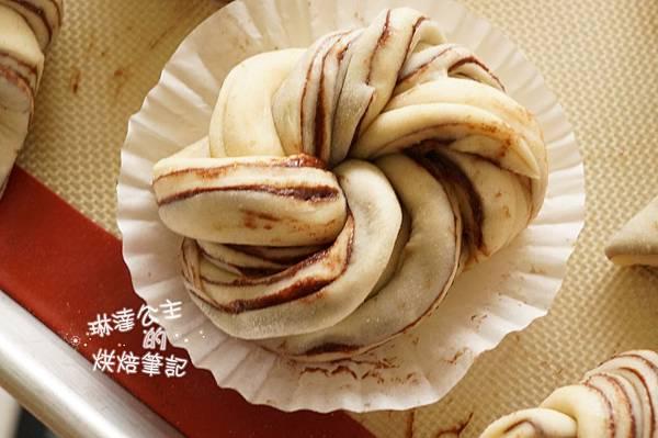 巧克力大理石牛角麵包 15