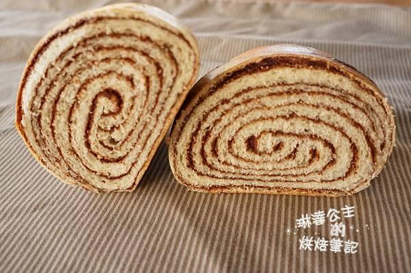 巧克力大理石牛角麵包 25