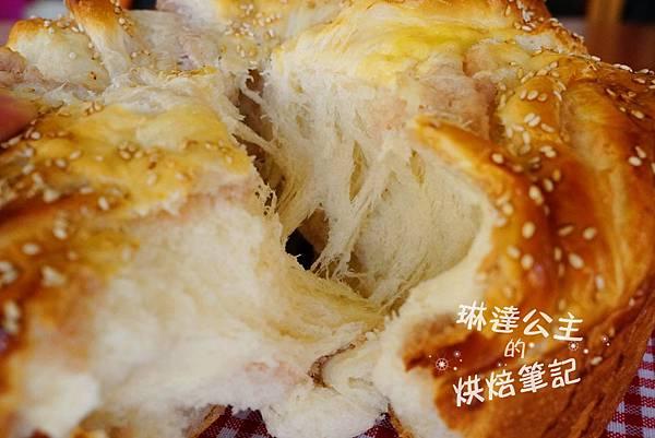 芋泥吐司 12