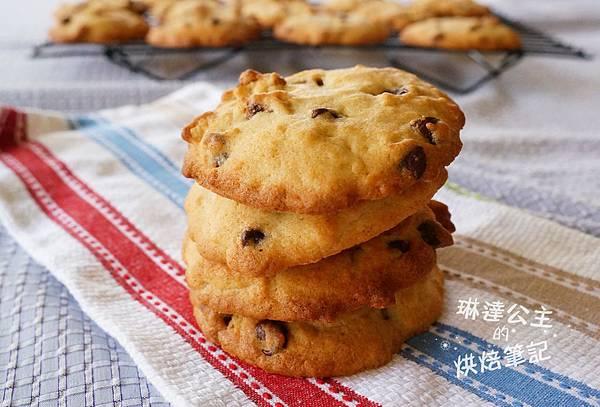 美式巧克力豆餅乾 8