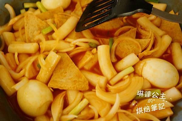 韓式辣炒年糕 6