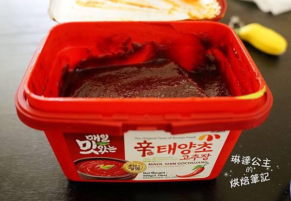韓式辣炒年糕 1