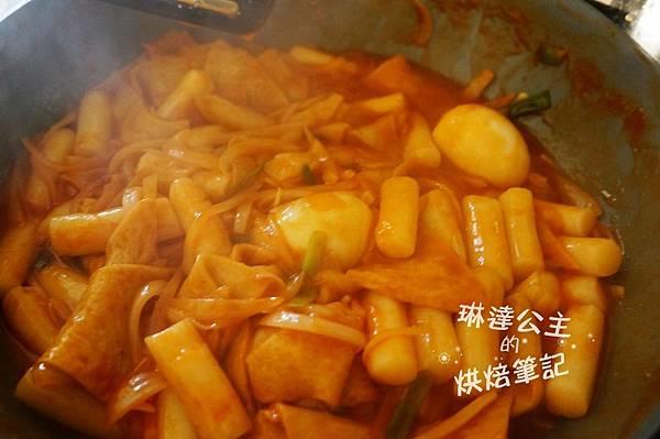韓式辣炒年糕 8
