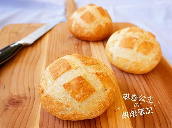玉米濃湯麵包球 7
