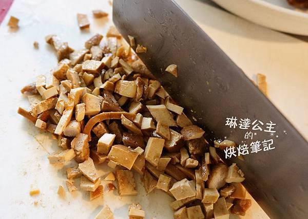 酸菜豆干包子 4
