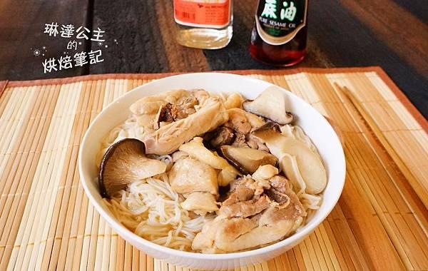 麻油雞麵線1