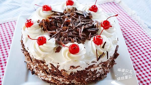 黑森林蛋糕 2