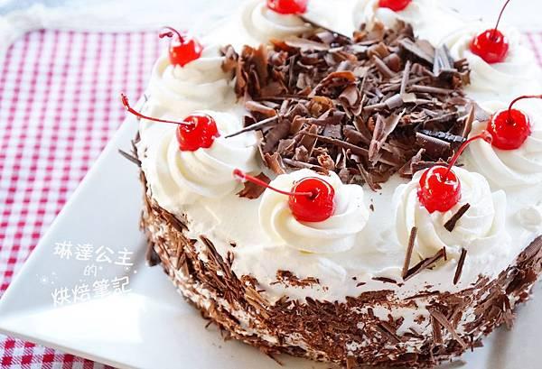 黑森林蛋糕 3