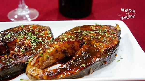 紅酒醬燒鮭魚 5