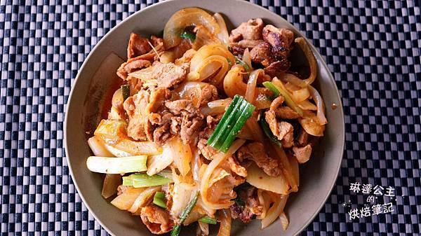 韓式泡菜炒豬肉 5