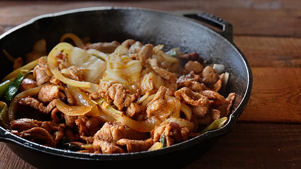 韓式泡菜炒豬肉 10.JPG