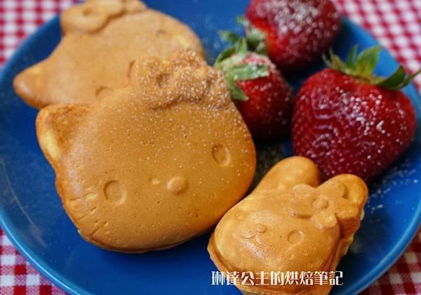 Hello Kitty鬆餅-8