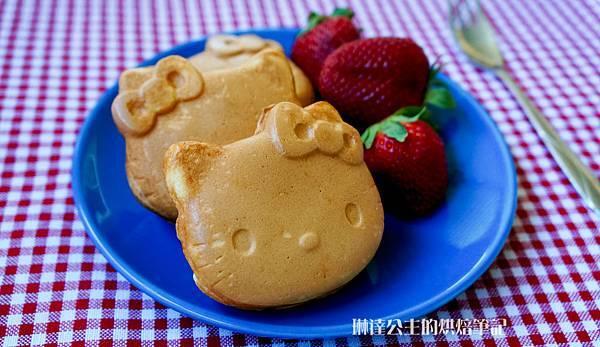 Hello Kitty鬆餅-7
