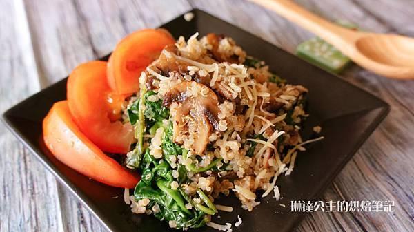 蘑菇菠菜藜麥-3
