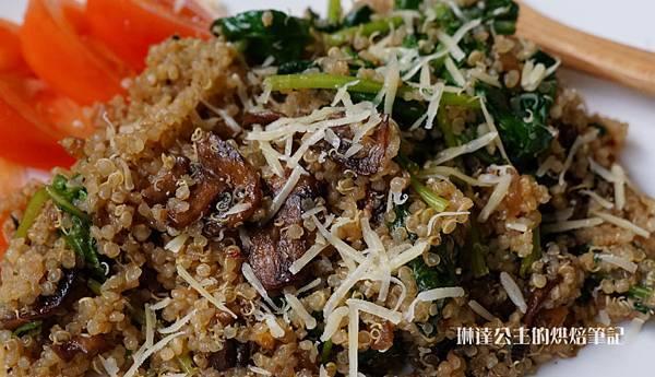 蘑菇菠菜藜麥-11