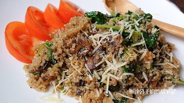 蘑菇菠菜藜麥-10