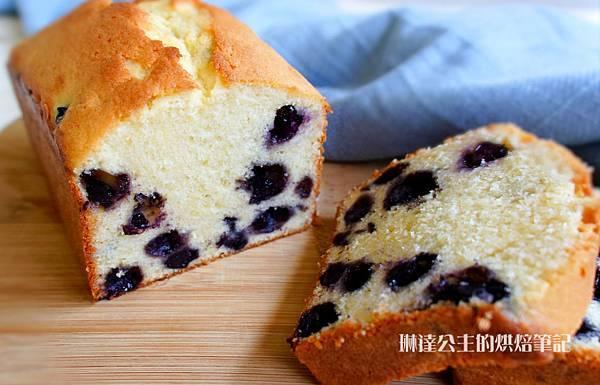 起司藍莓磅蛋糕-11