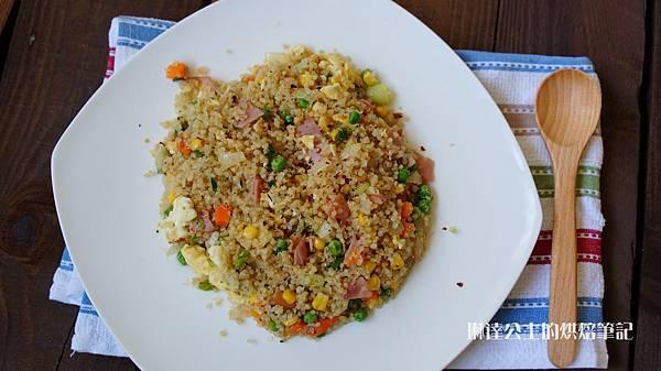 火腿蛋炒藜麥飯-14