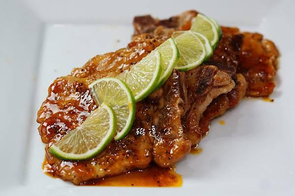 檸香醬燒豬排 2