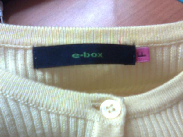 [售出]e-box品牌標籤