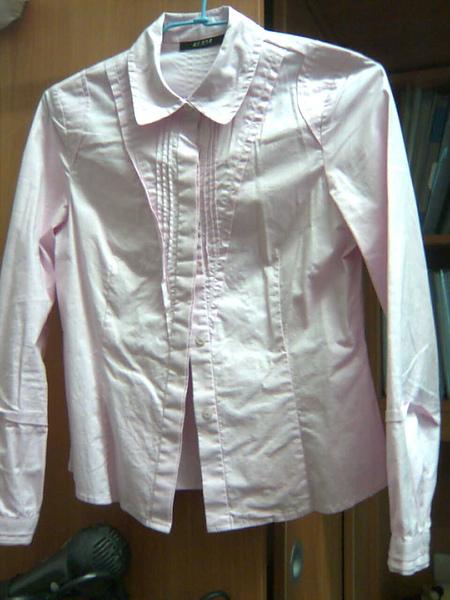 KUDA專櫃‧粉色襯衫
