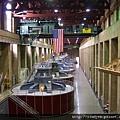 胡佛大壩的水力發電機