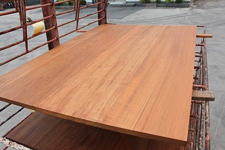 緬甸柚木集成材 塗裝品5.JPG