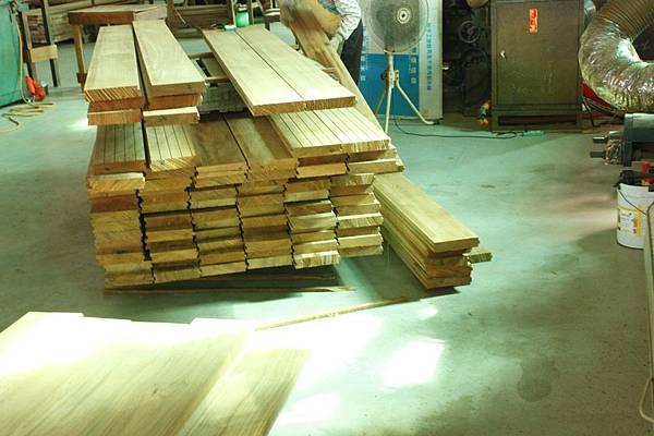 緬甸柚木1.4寸厚6寸寬地板 (3)