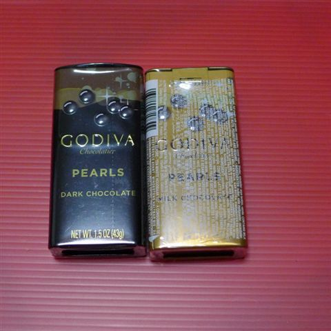 宮主送的GODIVA巧克力隨身板