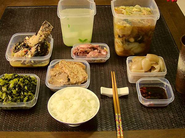 老媽送菜20101128