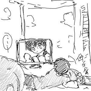 一天-看電視觀察