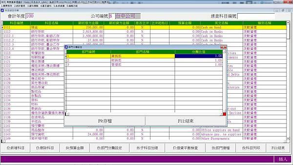 會計軟體會計科目部門分攤.jpg