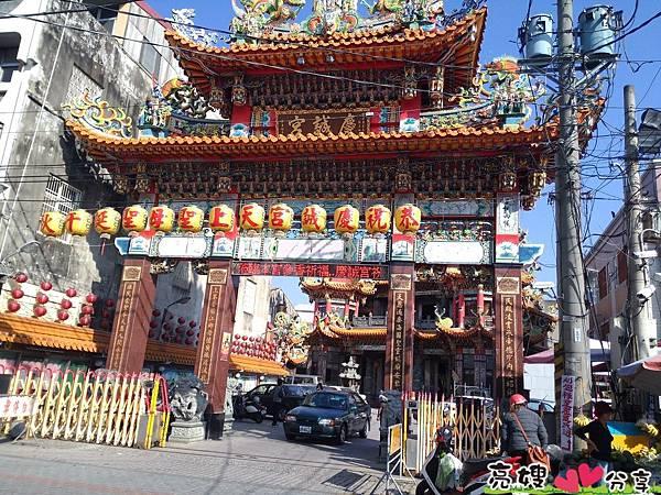 民雄鄉慶誠宮-全台唯一蒙清嘉慶君敕封的媽祖廟,天上聖母