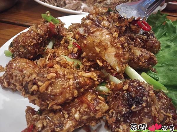嘉義桃花源餐廳-好香的香酥鴨