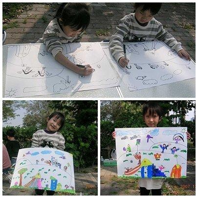 ↑2007.12~蓮池潭扶輪社舉辦的寫生活動