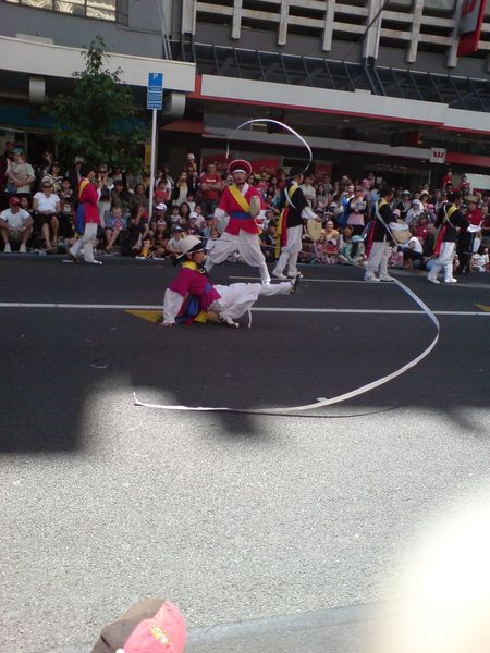 韩国社团表演