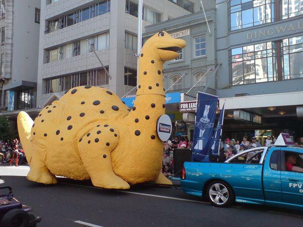 好大的恐龙