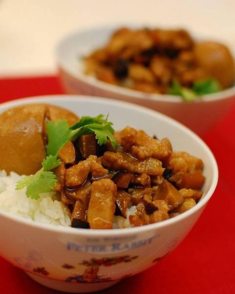 香菇魯肉飯