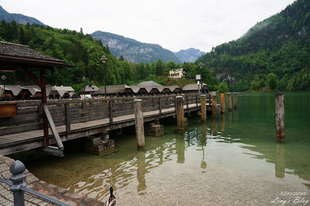 太一德瑞蜜月甜蜜遊│DAY9:世外桃源仙境國王湖(Königssee),美得讓人驚嘆!一生值得來一次的美景,享用鱒魚大餐。