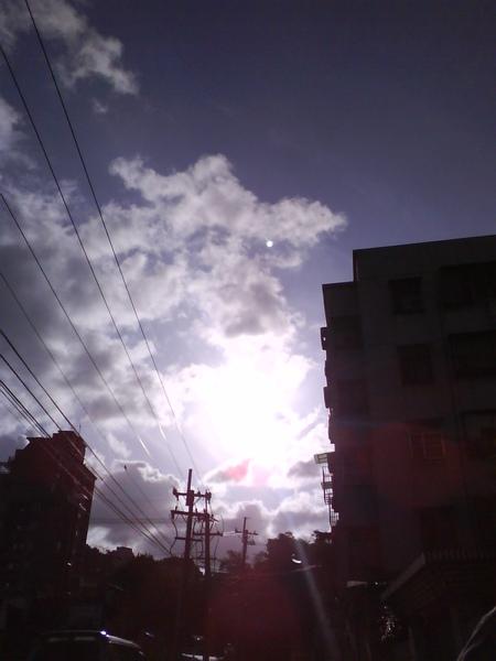 2009.4.18 今天有超美的陽光跟天空