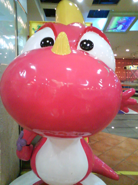 好好笑的恐龍~in大湖生活百貨