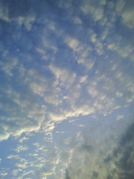 回到南港車站外的天空 ^^