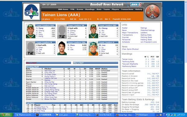 TPBL 2009 mod (for OOTP 10) f
