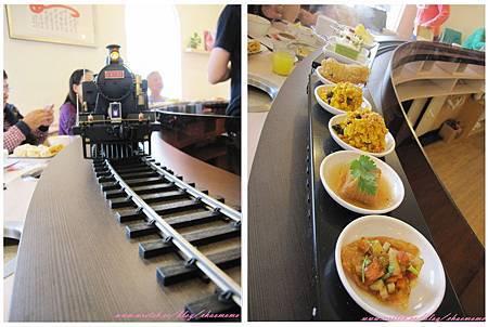 陶米火車頭+食物