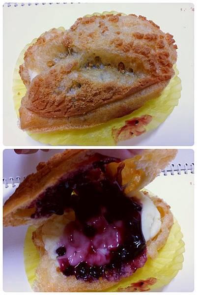 酵素泡芙-藍莓雙餡