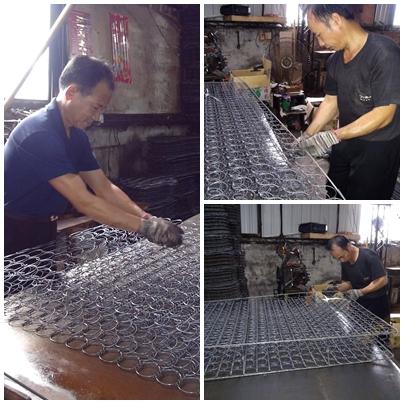 隆美彈簧床製作過程1