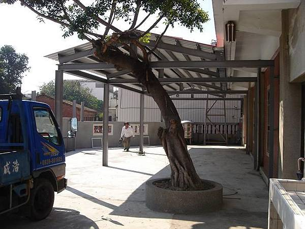 浩成工程行-鋼構鐵皮門
