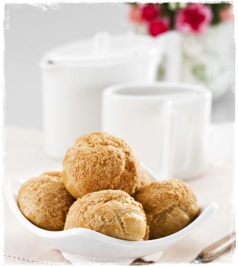 美食村蛋糕-菠蘿泡芙2