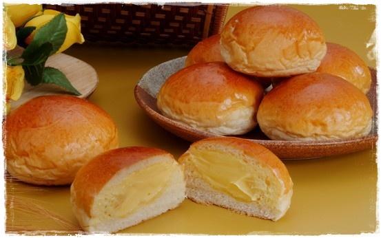 美食村蛋糕-爆漿餐包